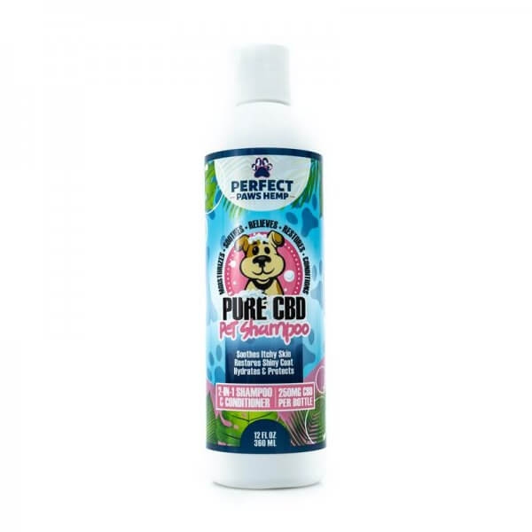 CBD Pet Shampoo and Conditioner - front