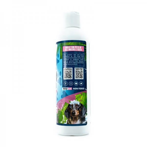 CBD Pet Shampoo and Conditioner side