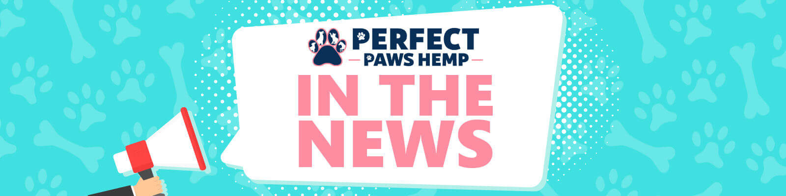 Perfect Paws Hemp In the News Banner