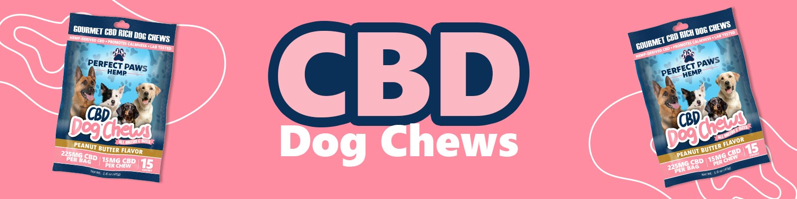 CBD Dog Treats - Chews