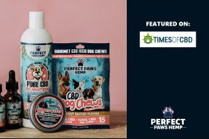 Perfect Paws Hemp CBD Dog Chews Feature on Times of CBD