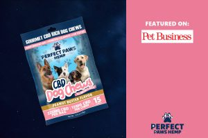 Perfect Paws Hemp CBD Dog Chews Featured on Pet Business